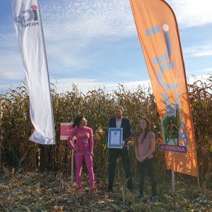 najlepsza kukurydza ziarno rekord